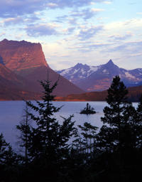 Saint Mary Lake in Glacier National Park